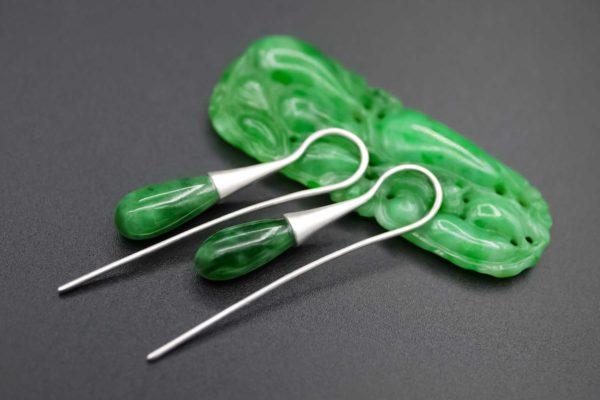 Ohrringe aus Jade